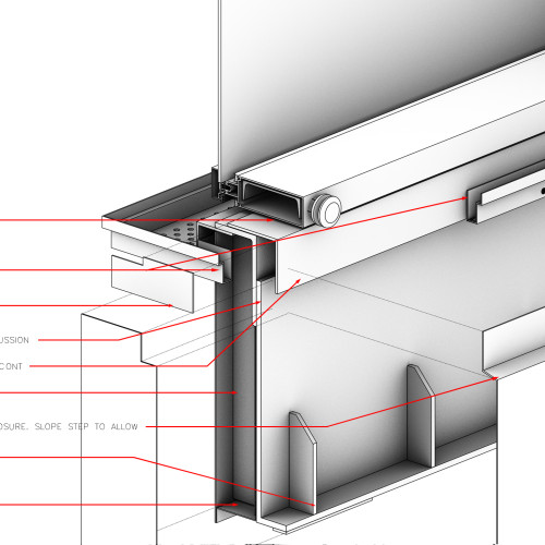 3D Detail - Cantilevered Window
